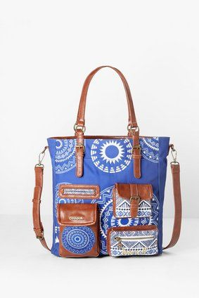 Bags Desigual Bag Budapest Blackville
