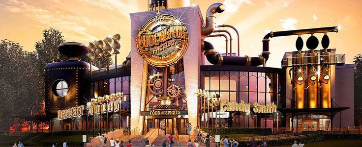 Universal Orlando Is Opening a Chocolate Factory!