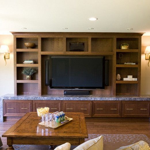 Media Room Entertainment Center Design Ideas, Pictures, Remodel, And Decor