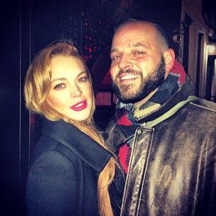 """Lindsay Lohan And Daniel Franzese Had A """"Mean Girls"""" Reunion Last Night And It Was So Fetch"""