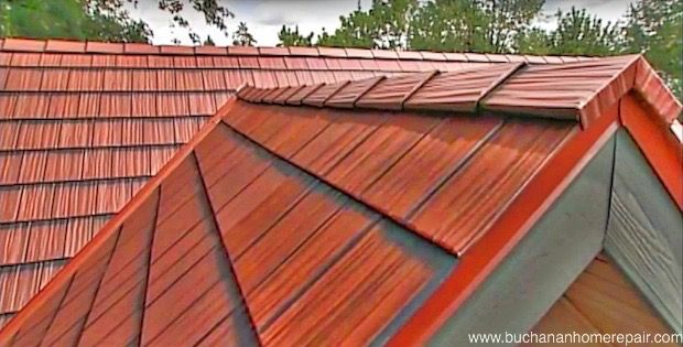 Aluminum roof panels - buchananHomeRepair