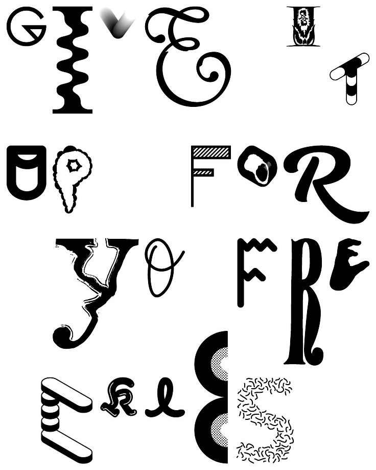Kokoro & Moi http://www.kokoromoi.com/ http://www.agentpekka.com/  Yo Freckles is a collaborative typeface project initiated by Helsinki and New York based design agency Kokoro & Moi. The typeface is a collection of 366 glyphs from 139 collaborators, compiled by Kokoro & Moi and made available at yofreckles.com under the Creative Commons licence. #agentpekka