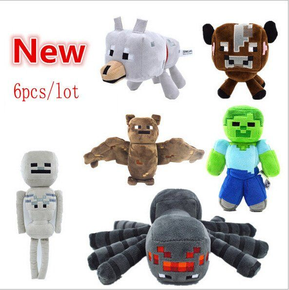 https://www.nichecategory.com/collections/frontpage/products/6pcs-lot-minecraft-wholesale-game-plush-toys-minecraft-spider-bat-skeleton-wolf-cow-steve-kids-game-cartoon-toys-brinquedos?nopreview
