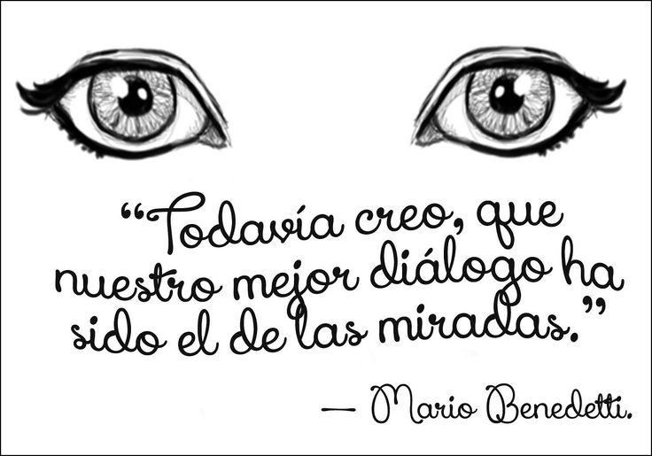 Frase del escritor Mario Benedetti