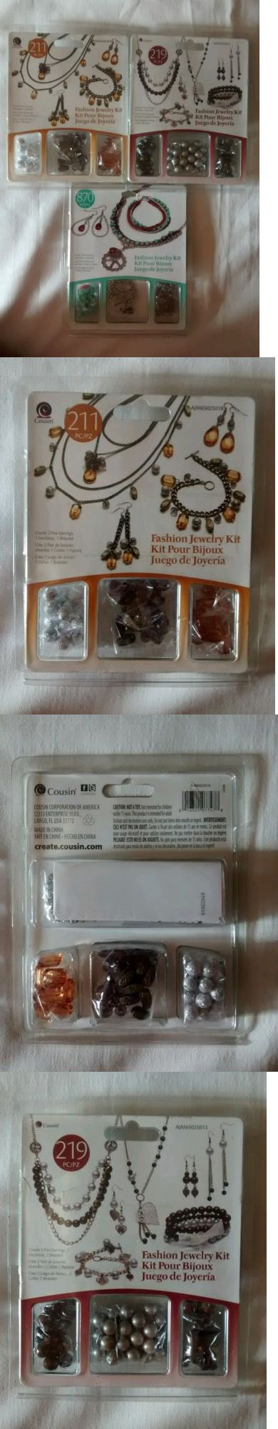 Other Jewelry Making Kits 162102: (3-Kits)Cousin Fashion Jewelry Kits New -> BUY IT NOW ONLY: $33 on eBay!