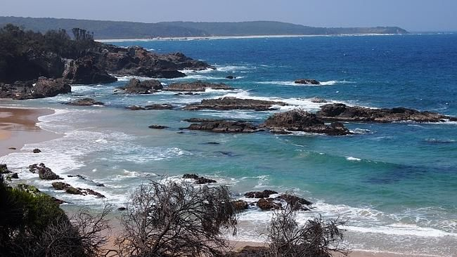 Mystery Bay is a pretty cool sight. Picture: Paul Arps