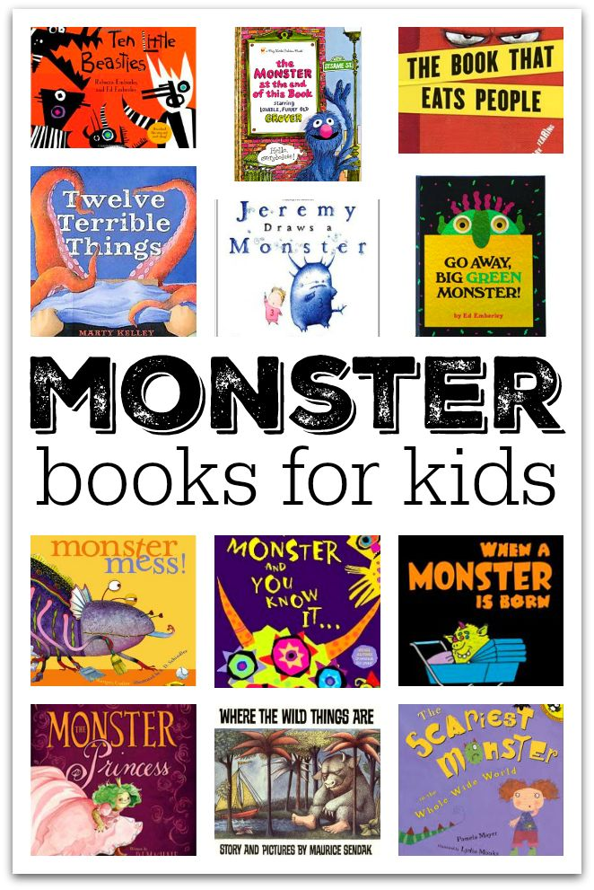 Before you worry that a monster book might scare your child, read my reviews of these books about monsters and then try to find the book at the library. Monster books can be amazing tools to conquer f