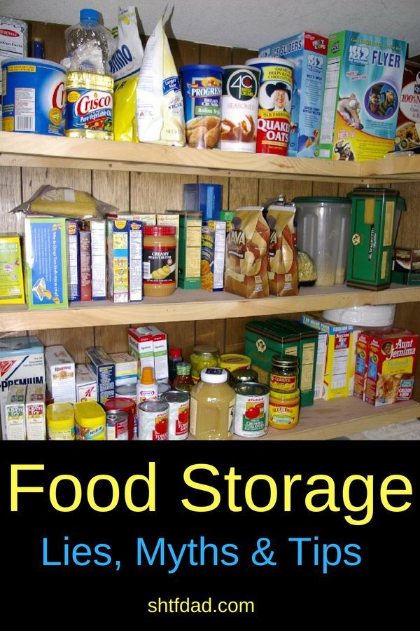 Long Term Food Storage Lies Myths And Tips Food Storage
