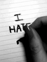 i hate me