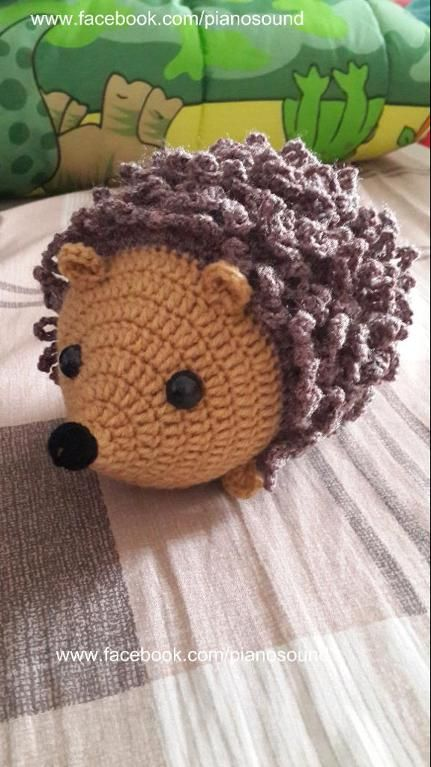 Amigurumi Crochet Hedgehog Pattern pattern on Craftsy.com
