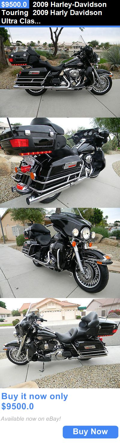 Motorcycles: 2009 Harley-Davidson Touring 2009 Harly Davidson Ultra Classic *Sharp!* BUY IT NOW ONLY: $9500.0