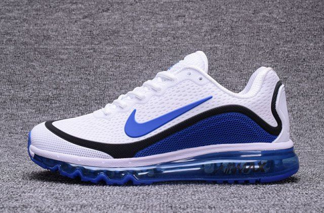 detailed look 5c73c ab494 Top Quality Nike Air Max 2017 KPU White/Royal Blue Men's Running Shoes  Sneakers 898013 111 - NikeMaxZone.com