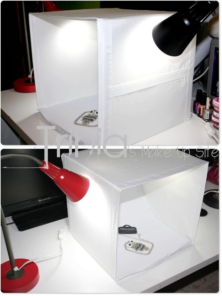 **Trihias Make Up Site**: #219 ♠ DIY Caja de luz casera (LightBox). Saca el máximo rendimiento a tu cámara ♠