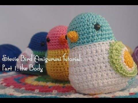 Amigurumi Bird Tutorial : Best crochet birds images amigurumi amigurumi
