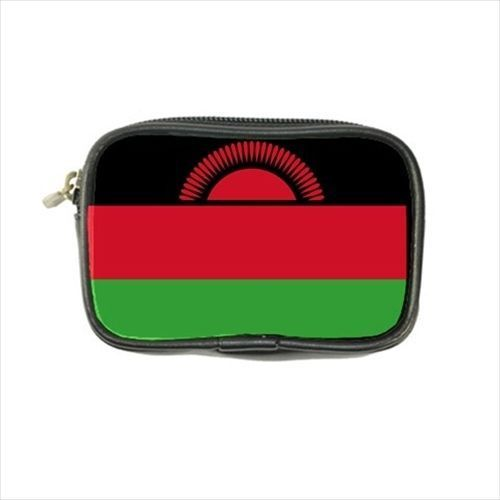 12.54$  Watch now - http://vidaq.justgood.pw/vig/item.php?t=l0py2b50880 - Malawi Flag Leather Coin Purse