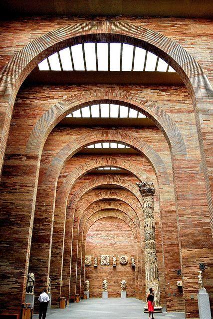 Museo Nacional de Arte Romano, Merida, Spain