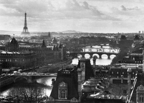 Skyline von Paris Poster bei AllPosters.de
