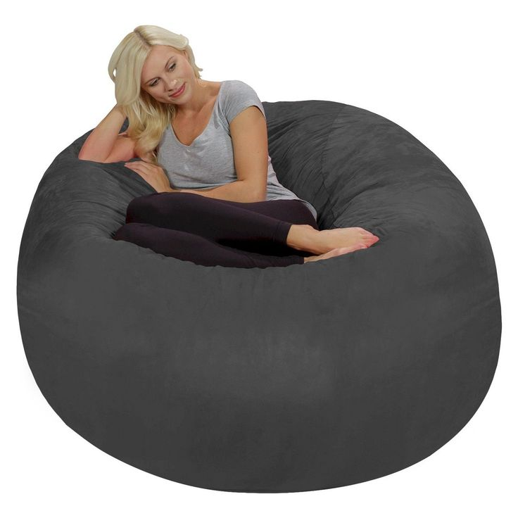 $140  Sit back, relax and stay a while in this Large Memory Foam Bean Bag from Relax Sacks. This bean bag chair will be the perfect lounge spot to sit in while reading a book, watching your favorite TV show or playing video games. Whether in your den, living room or dorm room, this foam bag chair will give you all the comfort you need to recharge. #FavoriteMemoryFoam