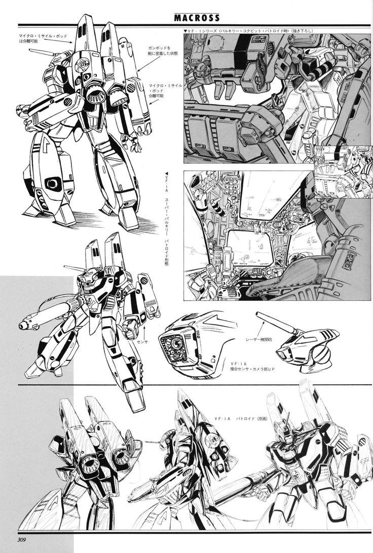 """Macross マクロス"" | © Studio Nue スタジオぬえ • Blog/Info…"