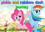 Raimbow Dash y Pinkie Pie Journey