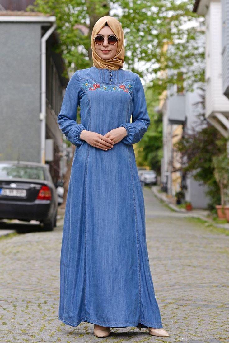Tesetür Giyim Markalarının Güvenilir Alışveriş Sitesi #tesetturmoda #tesetturstil #fashion #instagood #fashionlovers #dress #instalike #tesetturelbise #hijabstyle #hijab #tesetturask #tesetturgiyim #hijabfashion #kina #dügün #bayan #stylehijab #sal #nişanlik #tasarim #buyukbeden #tesetturnisanlik #abaya #tesettürelbise #tesettürgiyim #ucuztesettur #kapidaodeme #tesettür #indirim #yenisezon #tunik  Gizlice Nakış Detaylı Kot Tencel Elbise E1160 İndigo -   109.90tl…