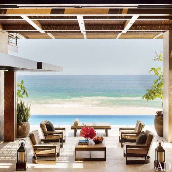 An Oceanfront Home In Los Cabos, Mexico, Becomes A Modernist Retreat