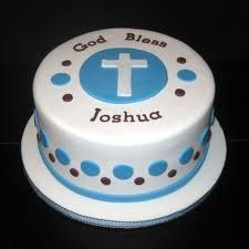 Image result for modern baptism cakes