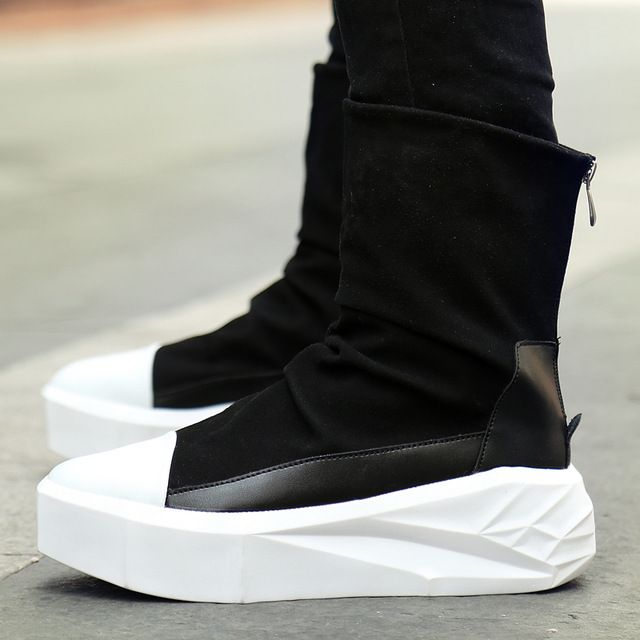 Купить товарOwen новые Для мужчин 8 см Ботинки на платформе, увеличивающие рост молния сзади Обувь кожаная для девочек мальчиков разноцветные Y3 высокие черный, белый цвет Мужские ботинки в категории  на AliExpress. Owen новые Для мужчин 8 см Ботинки на платформе, увеличивающие рост молния сзади Обувь кожаная для девочек мальчиков разноцветные Y3 высокие черный, белый цвет Мужские ботинки