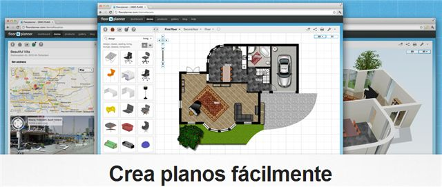 Blog about an application to create drawings in 2D and 3D, called Floorplanner.