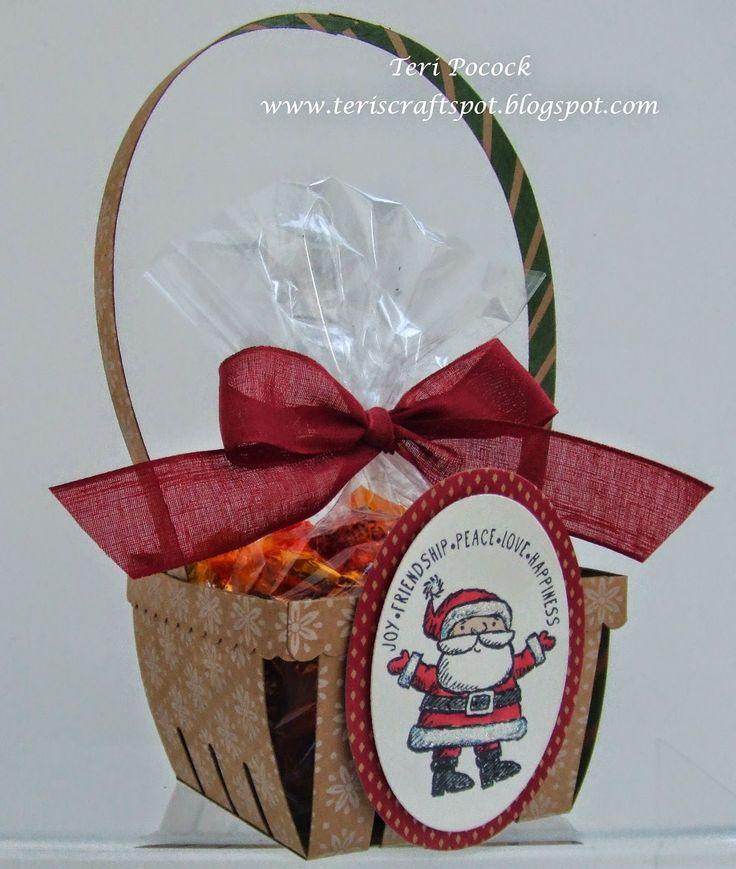 Stampin' Up! - Berry Basket BigZ Die!  Teri Pocock - http://teriscraftspot.blogspot.co.uk/2014/12/stampin-up-berry-basket-bigz-die.html