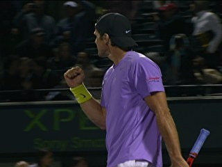 Algoz de Djokovic, Tommy Haas bate francês e vai à semifinal em Miami | sportv.com