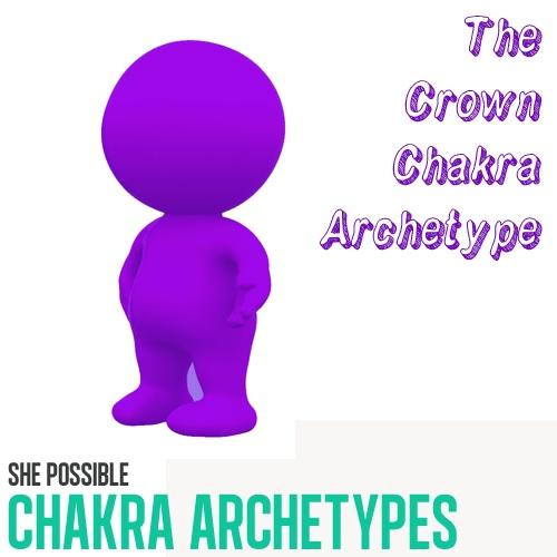 °The Crown Chakra Archetype - Negative (Perception) The Egoist. Positive (Truth) The Guru.