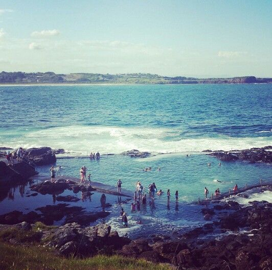 Kiama rock pools, Sydney NSW