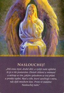 Andělská paní - výklad karet