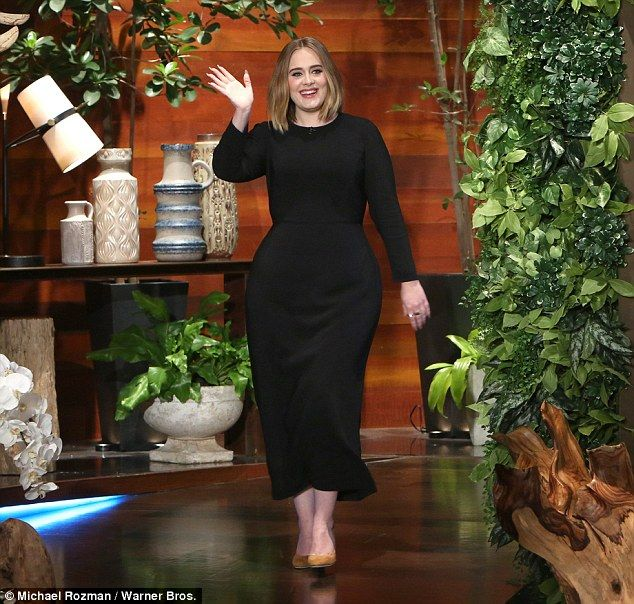 All day: Adele during an appearance on The Ellen DeGeneres Show on Thursday said she cried for a day after a technical glitch marred her performance at the Grammy Awards