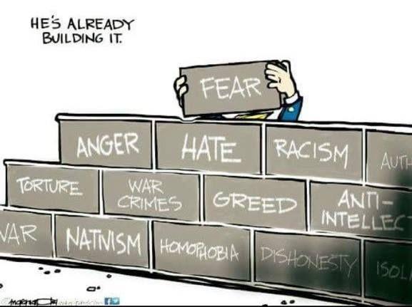 Dump Republikkkan Trump and his Hateful Fascist Supporters!!