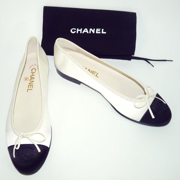 8b86f5e6870 chaussure bicolore chanel
