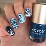 """120 Likes, 3 Comments - 💗Aksinya💗 (@nails_by_aksinya) on Instagram: """"Mandala nails 💛  #nailfashion #naildesign #nailart #nails2inspire #nailsnailsnails #polishaddicted…"""""""