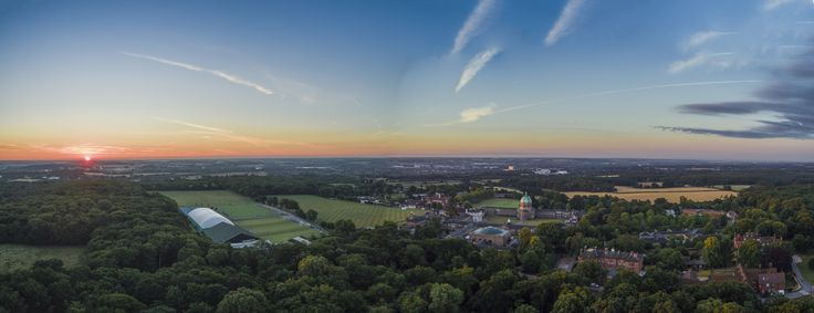 Haileybury Sunrise Panorama by Nigel Lomas on 500px