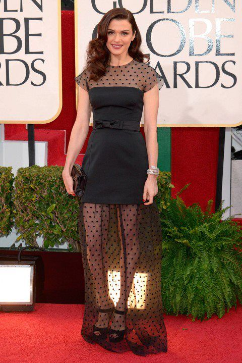 Rachel Weisz is a #HairHero for her gorgeous hair on the #redcarpet at the #GoldenGlobes