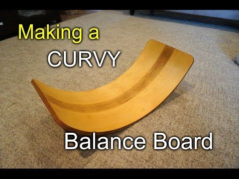 This is how I made a Waldorf style curvy balance board for my daughter. It's a great motor skills development tool/toy for kids to help improve both physical...