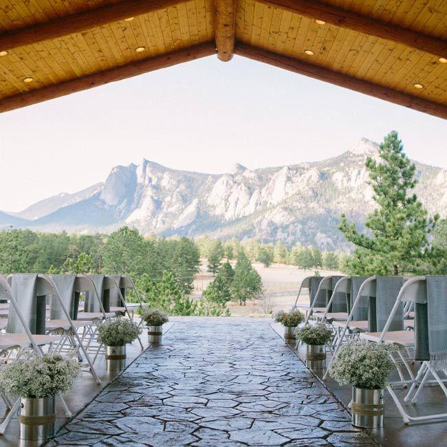 Colorado Mountain Wedding Venues: Gorgeous Mountain Views! Photo By James Christianson
