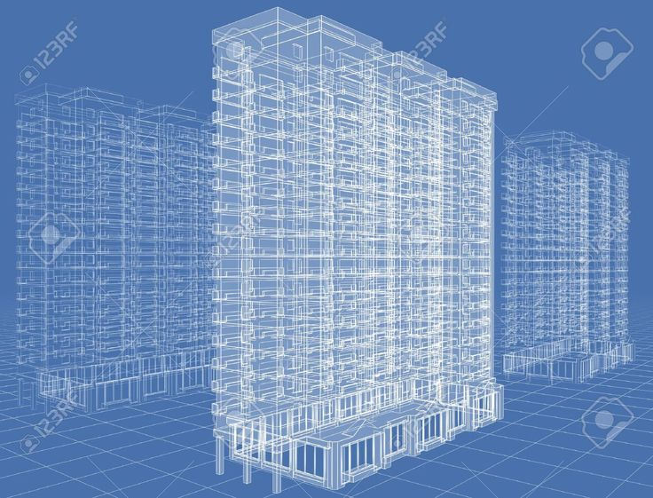 http://previews.123rf.com/images/nikonaft/nikonaft0911/nikonaft091100022/5947654-Abstract-architectural-3D-drawing-of-many-storeyed-building-on-blue--Stock-Photo.jpg