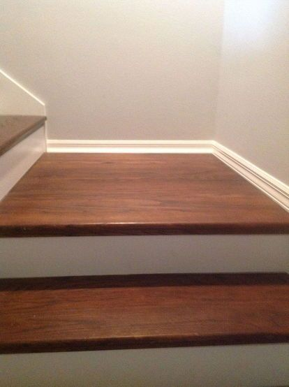 17 Best Ideas About Painted Wood Stairs On Pinterest
