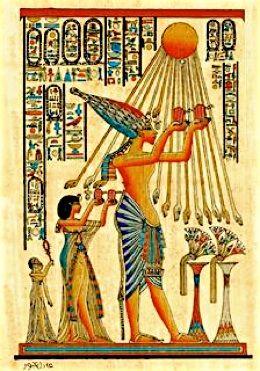Egyptisk religion - artikel med sammenhæng til kristendommen