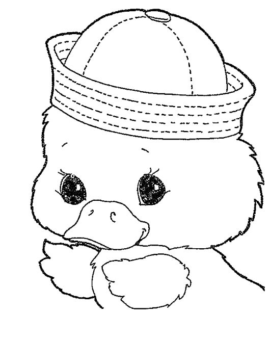 Easter Chick Coloring Sheet