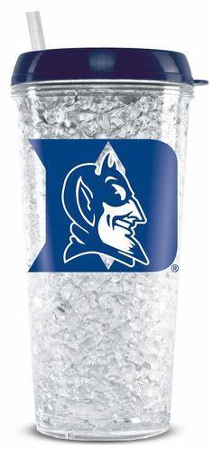 Duke Blue Devils Crystal Freezer Tumbler