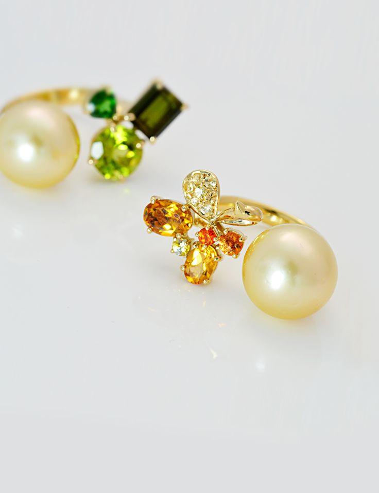 IMAI kuniko KYOTO Regardez, une étoile filante ! 見てごらん、流れ星! ---#Ring #pearl #jewelry