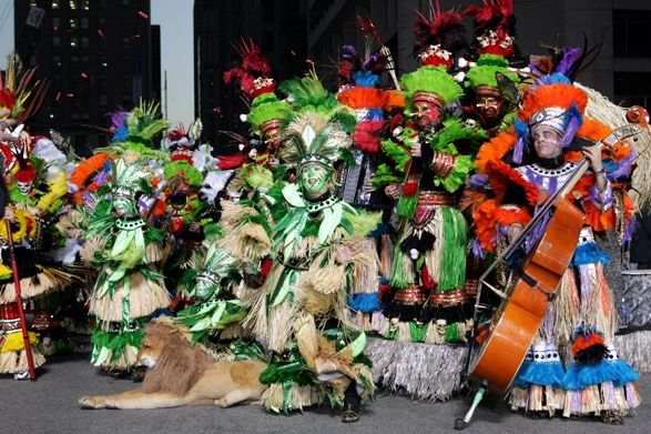 Phila Mummers Parade ~ Jan 1st