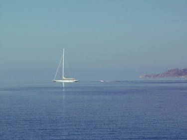 "Saatchi Art Artist Mellissa Briley; Photography, ""Sailing Free"" #art #photography #Greece"